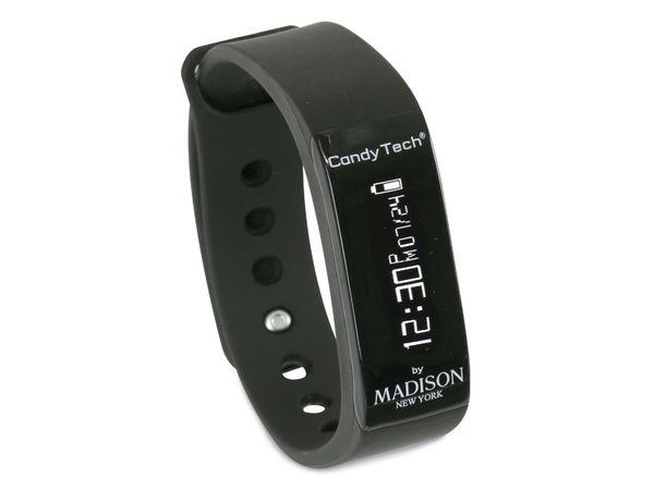 Fitness-Armband MADISON CandyTech, schwarz - Produktbild 1