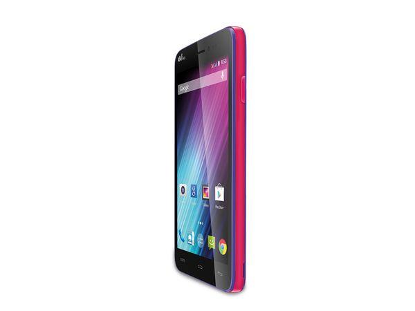 Dual-SIM Smartphone WIKO Lenny, lila - Produktbild 1