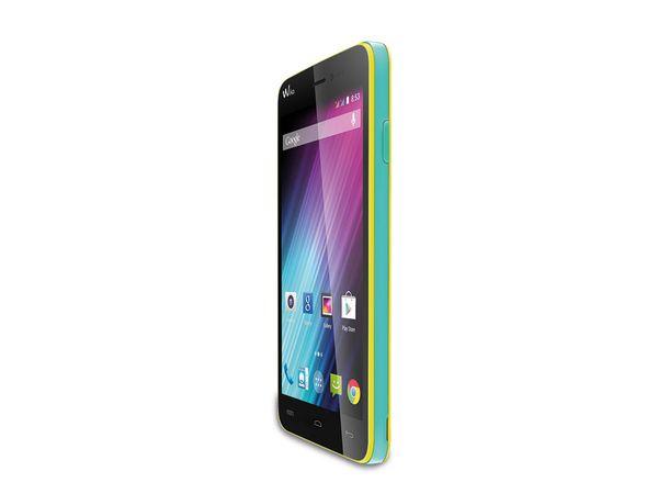 Dual-SIM Smartphone WIKO Lenny, neon-gelb - Produktbild 1