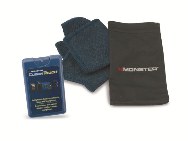 Touchscreen-Reinigungsset MONSTER MC CLNTCH-S WW 132802-00 - Produktbild 1