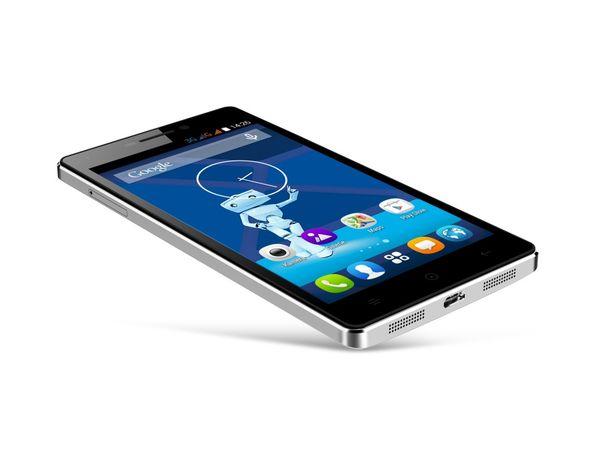Dual-SIM Smartphone HAIER HaierPhone Voyage V3, schwarz - Produktbild 3