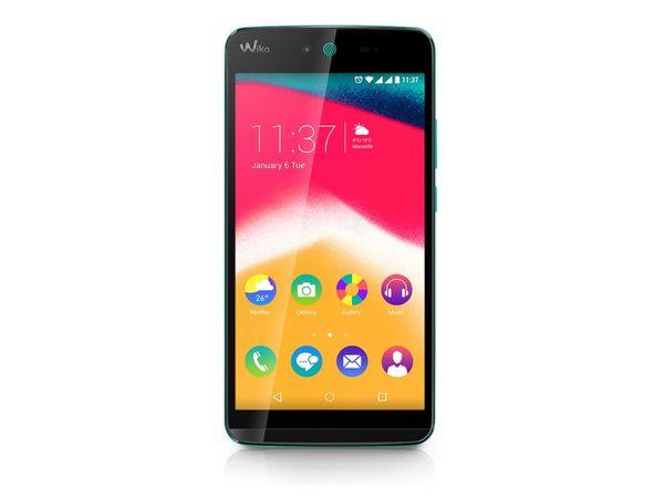 "Dual-SIM Smartphone WIKO Rainbow Jam, 5"", Android 5.1, 8 GB, türkis - Produktbild 1"