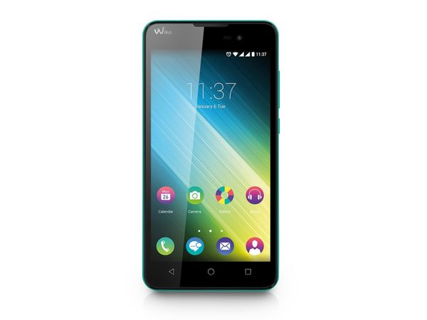"Dual-SIM Smartphone WIKO Lenny 2, 5"", Android 5.1, 8 GB, türkis - Produktbild 1"