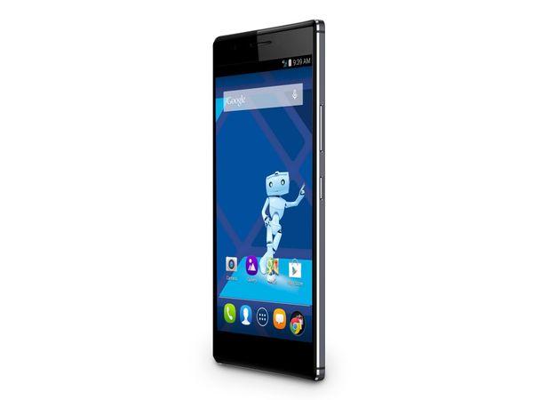 Dual-SIM Smartphone HAIER HaierPhone Voyage V5, Android, LTE, midnight-blue - Produktbild 1