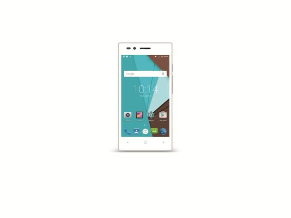 """Dual-SIM Smartphone SISWOO A4+,Android, 4,5"""", LTE, weiß - Produktbild 1"""