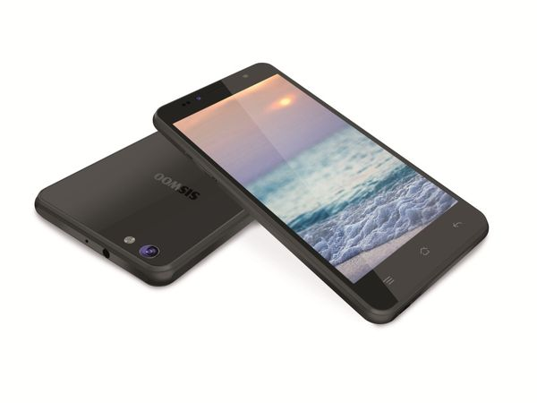 "Dual-SIM Smartphone SISWOO C55 Longbow, Android, 5,5"" HD, LTE, schwarz - Produktbild 1"