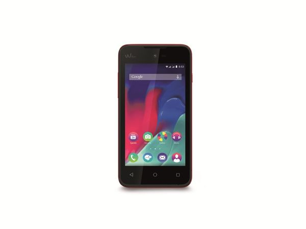 "Dual-SIM Smartphone WIKO Sunset 2, 4"", Android 4.4, 8 GB, koralle - Produktbild 1"