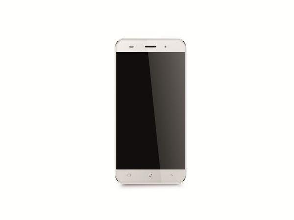 "Dual-SIM Smartphone MOBISTEL Cynus F7, 5"", Android 5.1, 8 GB, silber - Produktbild 1"