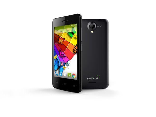 "Dual-SIM Smartphone MOBISTEL Cynus E4, 4"", Android 4.4, 4 GB, schwarz - Produktbild 1"