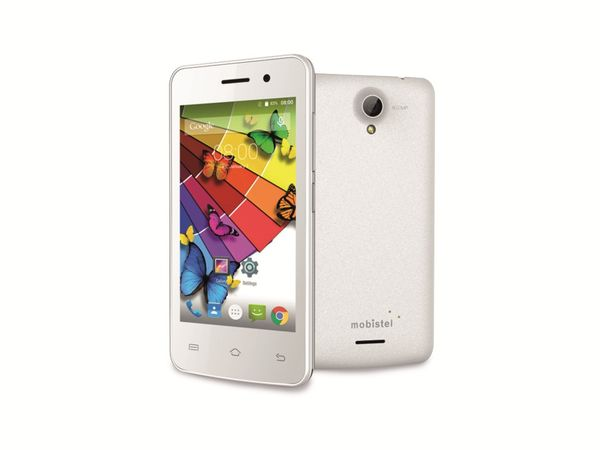 "Dual-SIM Smartphone MOBISTEL Cynus E4, 4"", Android 4.4, 4 GB, weiß - Produktbild 1"