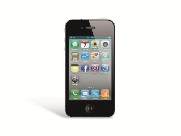 Smartphone APPLE IPHONE 4, 32 GB, schwarz, Refurbished - Produktbild 1