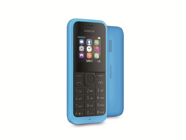 Mobiltelefon NOKIA 105DS, Dual-SIM, blau