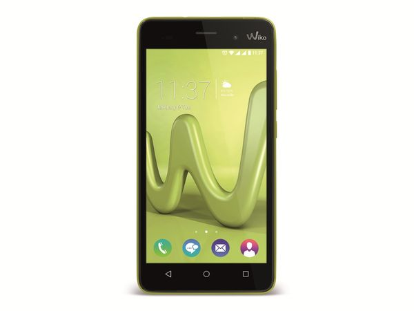 "Handy WIKO Lenny 3, Dual-SIM, 5"", 16GB Android 6.0, Quad-Core, limone - Produktbild 1"