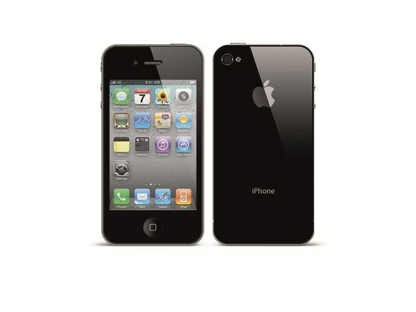 Smartphone APPLE IPHONE 4, 16 GB, schwarz, Refurbished