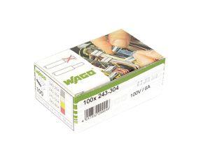 Micro-Steckklemmen WAGO 243-304, 4-polig, lichtgrau, 100 Stück - Produktbild 3