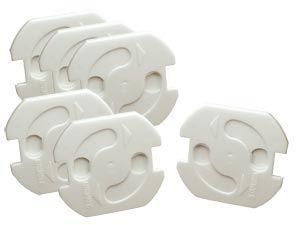 Steckdosen-Kinderschutz, 6 Stück