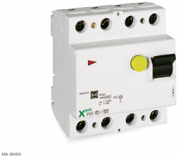 Fehlerstrom-Schutzschalter EATON PXF-40/4/003-A, 40/0,03 A