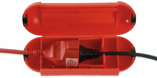 Sicherheits-Box, AS-SCHWABE, 48707, IP44, rot, Zugentlastung - Produktbild 2