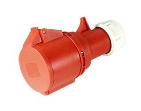 CEE-Kupplung PCE Shark, 5-polig, 400 V, 32 A, IP44 - Produktbild 2