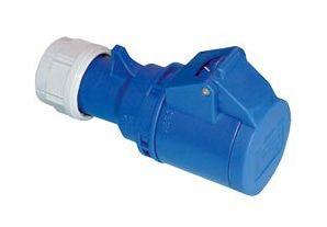 CEE Kupplung PCE Shark, 3-polig, 230 V, 16 A, IP44 - Produktbild 2