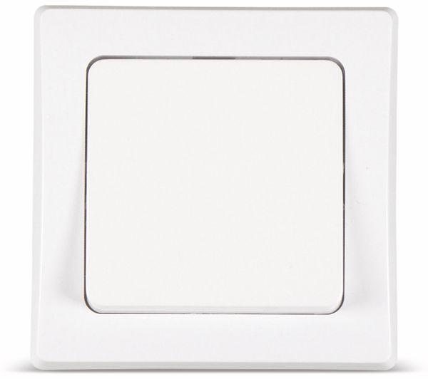 Wechselschalter DELPHI, 10A/250V, weiß