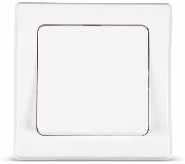 Tastereinsatz DELPHI, 230 V, 10 A, weiß