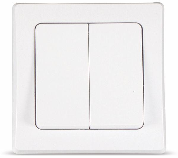 DELPHI Serienschaltereinsatz, 230 V, 10 A, weiß