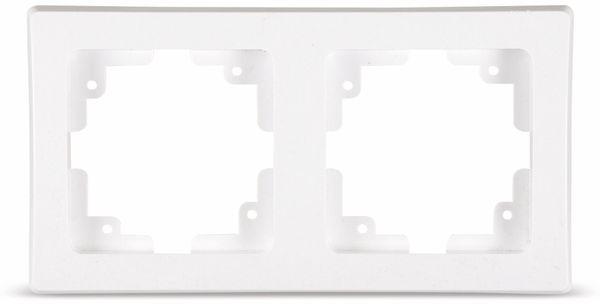 DELPHI 2-fach Rahmen, weiß