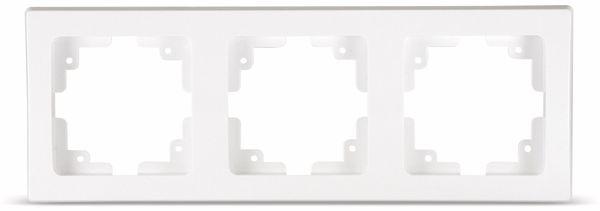 DELPHI 3-fach Rahmen, weiß
