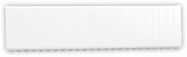 Abdeckstreifen, 12 Einheiten, weiß - Produktbild 2