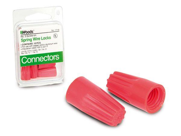 Kabel-Drehverbinder, schraublos, 10 Stück - Produktbild 1