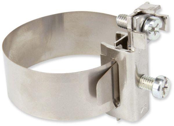 Erdungs-Bandschelle, 17,5...48 mm