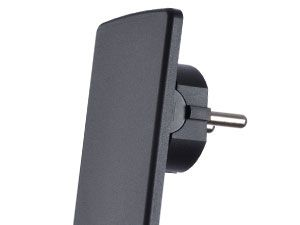 Schutzkontakt-Stecker EVOline Plug, extraflach - Produktbild 2