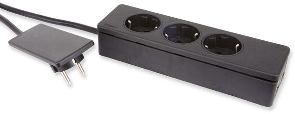 EVOline Plug mit 3-fach Steckdosenleiste - Produktbild 1