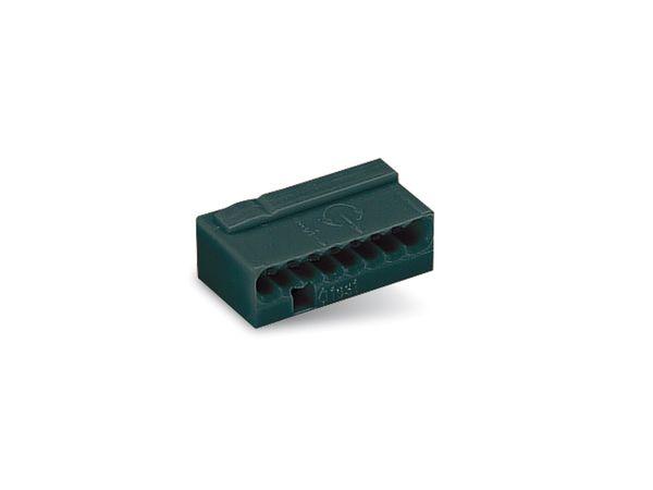 Micro-Steckklemmen WAGO 243-208, 8-polig, dunkelgrau