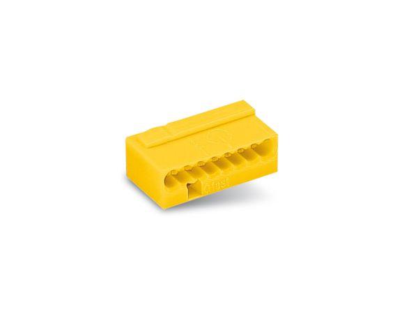 Micro-Steckklemmen WAGO 243-508, 8-polig, gelb