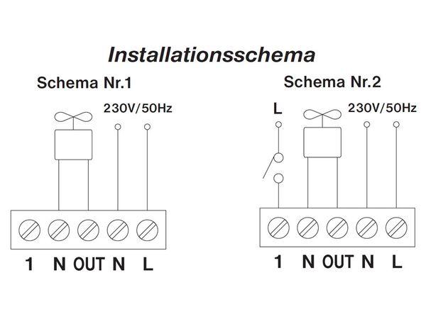 Feuchtigkeitssensor, einstellbar - Produktbild 4