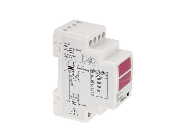 Digitales Volt-/Amperemeter für DIN-Schiene - Produktbild 2
