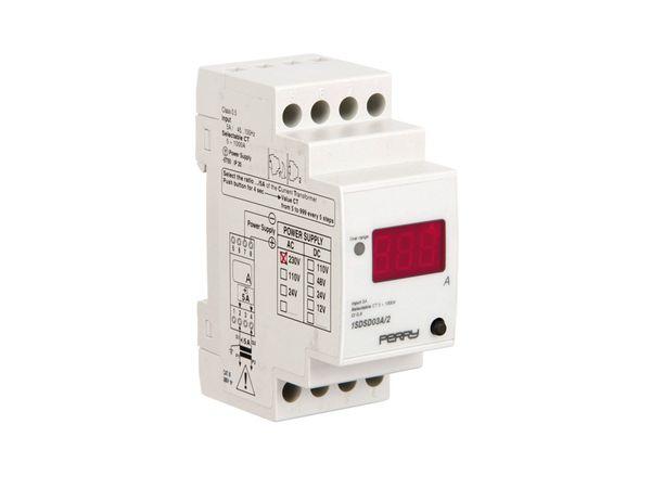 Digitales Amperemeter für DIN-Schiene
