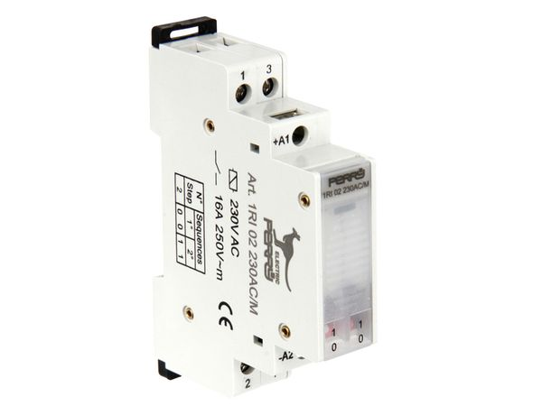 Stromstoss-Schalter, 230 V~, 2 Kontakte - Produktbild 1