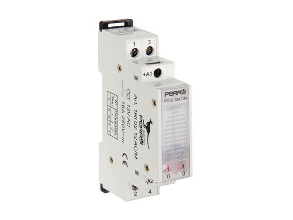 Stromstoss-Schalter, 12 V~, 2 Kontakte
