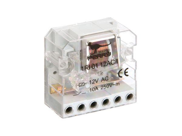 Stromstoss-Schalter PERRY 1RI0112AC/I, 12 V~, 1 Schaltkontakt