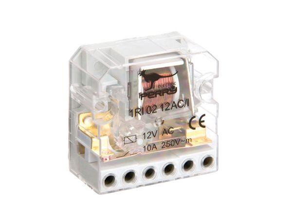 Stromstoss-Schalter, 12 V~, 2 Schaltkontakte