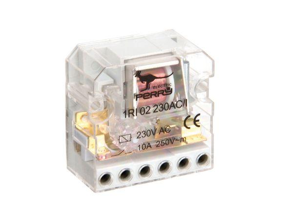 Stromstoss-Schalter PERRY 1RI02230AC/I, 230 V~, 2 Schaltkontakte