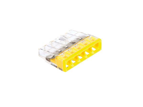 Steckklemmen WAGO 2273-205, 5-polig, 0,5...2,5 mm², 100 Stück