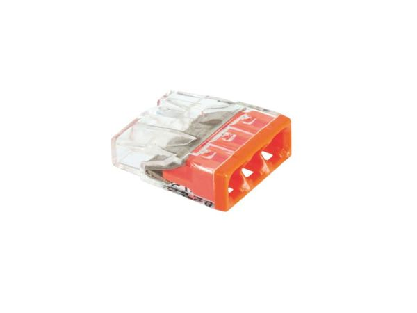 Steckklemmen WAGO 2273-203, 3-polig, 0,5...2,5 mm², 100 Stück