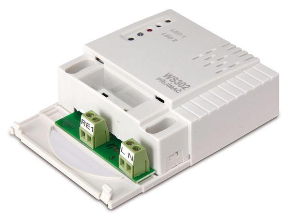 Funkempfänger WS302, für Funkschalter-System WS3xx - Produktbild 3