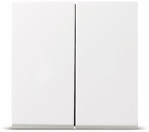 Serienwippe GIRA System 55, 029503, reinweiß, glänzend