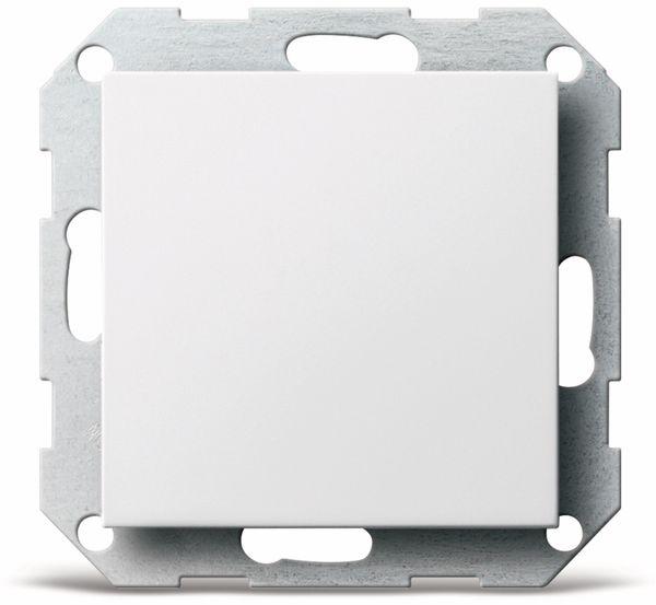 Blindabdeckung GIRA System 55, 026803, reinweiß, glänzend