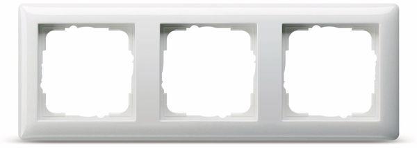 Abdeckrahmen 3-Fach GIRA Standard 55, 021303, reinweiß, glänzend